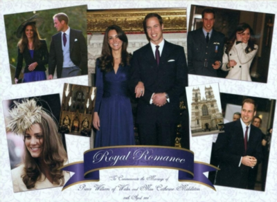 Royal Wedding: Prince William & Kate Middleton - 1000pc Jigsaw Puzzle by Great American Puzzle Factory