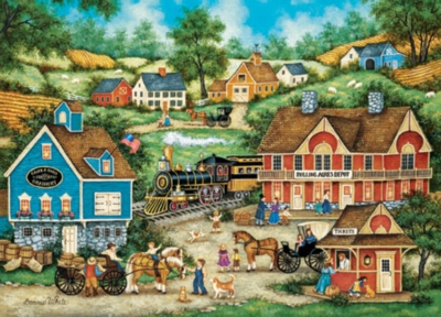 Rolling Acres - 500pc Jigsaw Puzzle by Masterpieces