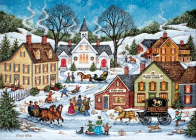 World's Smallest: Waiting to Cross - 1000pc Jigsaw Puzzle by Masterpieces