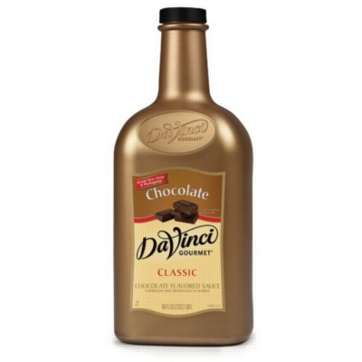Davinci Gourmet Sauce: Chocolate - 64oz Plastic Bottle