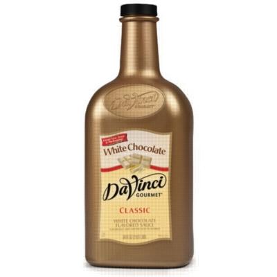 Davinci Gourmet Sauce: White Chocolate - 64oz Plastic Bottle