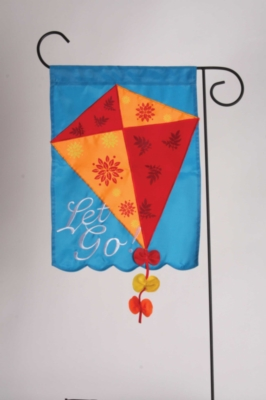 Let Go - Standard Applique Flag by Toland