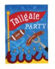 Tailgate Party - Garden Applique Flag by Toland
