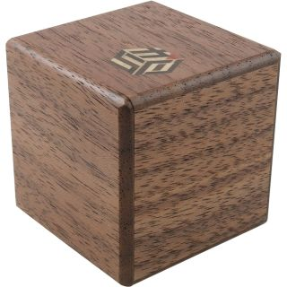 Karakuri Small Box #1: Walnut - Japanese Puzzle Box