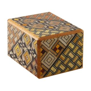 Wooden Puzzle Box - Japanese - 2 Sun, 5 Step: Koyosegi