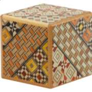 2 Sun, Cube: 4 Step: Koyosegi - Japanese Puzzle Box