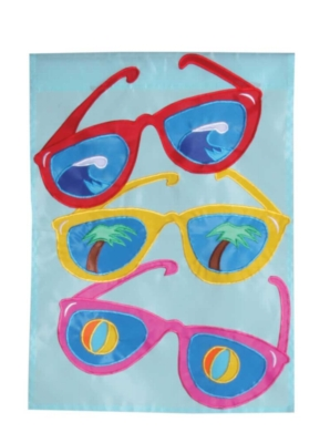 Cool Shades - Standard Applique Flag by Toland