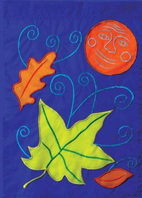 Harvest Moon - Standard Applique Flag by Toland