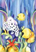 Tropical Fish - Garden Flag by Toland