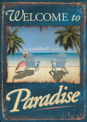 Paradise - Standard Flag by Toland