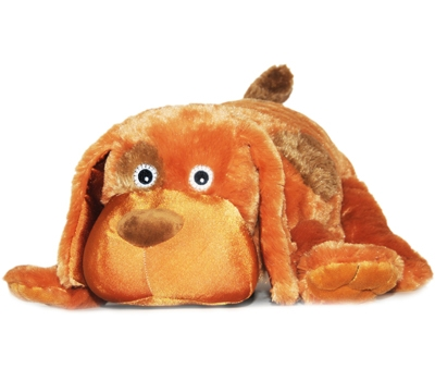 "Poco (Plush / Pillow / Blanket) - 17"" Dog by Zoobie Pets"