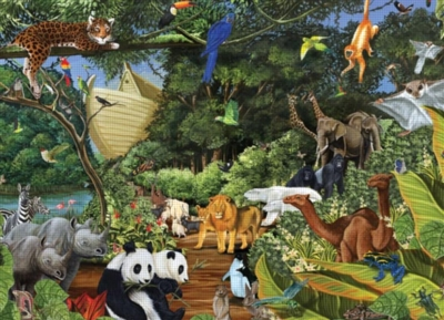 Two by Two - 2000pc Jigsaw Puzzle by Cobble Hill