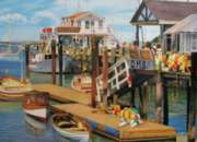 Summer Pier - 2000pc Jigsaw Puzzle by Cobble Hill