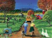 First Day of School - 1000pc Jigsaw Puzzle by Cobble Hill