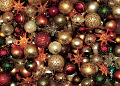 Cobble Hill Jigsaw Puzzles - Christmas Balls