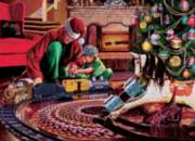Cobble Hill Jigsaw Puzzles - Christmas Tree Train