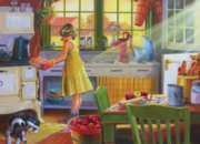 Apple Pie Kitchen - 275pc Large Format Jigsaw Puzzle by Cobble Hill
