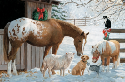 Pony and Friends - 180pc Jigsaw Puzzle by Cobble Hill