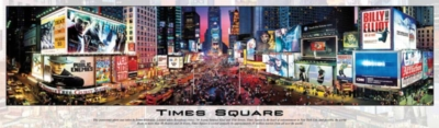 Times Square II - 750pc Panoramic Jigsaw Puzzle by Buffalo Games