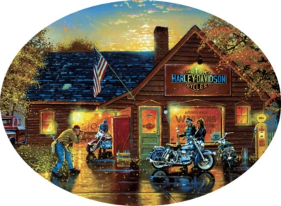 Picture Perfect - 750pc Shaped Jigsaw Puzzle by Buffalo Games