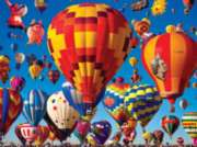 Hot Air Balloons - 750pc Photo Seek Jigsaw Puzzle Challenge by Buffalo Games