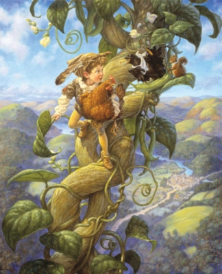 Jack & the Beanstalk - 1000pc Story Book Box Jigsaw Puzzle by Masterpieces