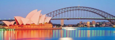 Sydney Harbor - 1000pc Panoramic Jigsaw Puzzle by Clementoni