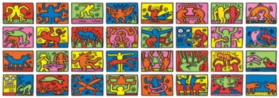 Ravensburger Jigsaw Puzzles - Keith Haring: Double Retrospect