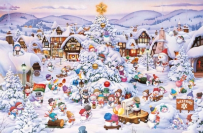 Hard Jigsaw Puzzles - Christmas Choir