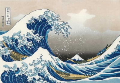 Hokusai: The Great Wave - 1000pc Jigsaw Puzzle by Piatnik