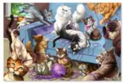Feline Fun - 200pc Jigsaw Puzzle By Melissa & Doug