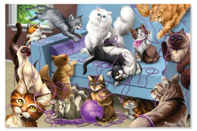 Melissa and Doug Jigsaw Puzzles for Kids - Feline Fun