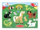 Neighborhood Pets- 6pc Wooden Peg Puzzle by Melissa & Doug
