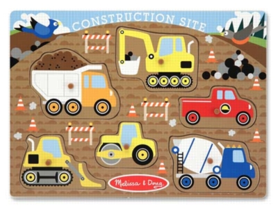 Children's Puzzles - Construction Site