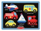 Vehicles - 6pc Chunky Wood Puzzle by Melissa & Doug