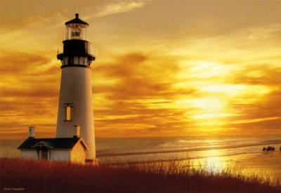 Educa Jigsaw Puzzles - Sunset Lighthouse