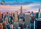 Midtown Manhattan, New York - 1000pc Jigsaw Puzzle By Educa