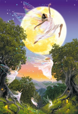 Dance Of The Moon Fairy - 1000pc Jigsaw Puzzle By Educa