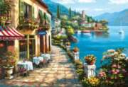Overlook Caf - 1500pc Jigsaw Puzzle By Educa