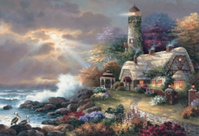 Heaven's Light - 2000pc Jigsaw Puzzle By Educa