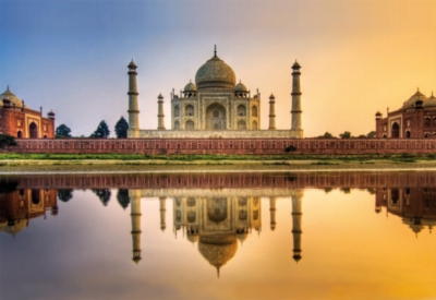 Taj Mahal, India - 2000pc Jigsaw Puzzle By Educa