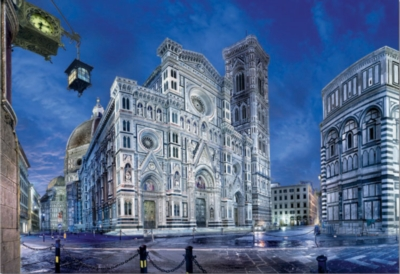 Santa Maria Del Fiore Cathedral, Florence - 1000pc Jigsaw Puzzle By Educa