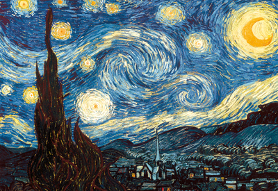 Educa Jigsaw Puzzles - The Starry Night, Van Gogh