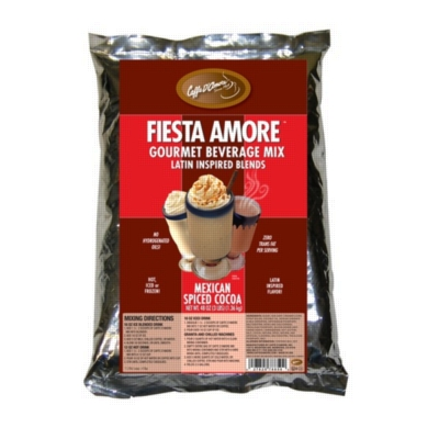 Caffe D'Amore Bellagio Mexican Spiced Cocoa - 2 lb. Bulk Bag