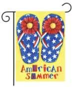 American Summer - Garden Flag by Toland