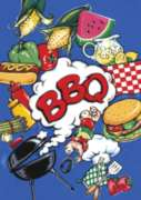 BBQ - Garden Flag by Toland