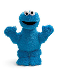 "Cookie Monster - 13"" Sesame Street by Gund"