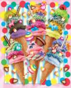 Jigsaw Puzzles - Ice Cream Candy Swirls