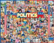 Politics - 1000pc Jigsaw Puzzle by White Mountain