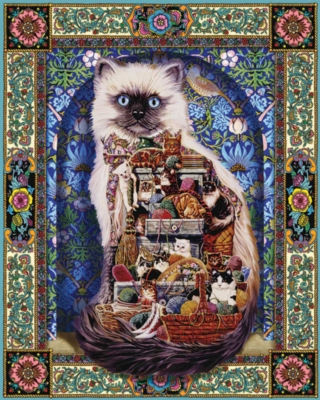 Cats Galore - 1000pc Jigsaw Puzzle by White Mountain